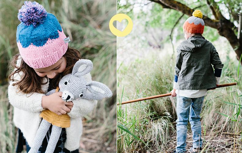 Oh yeah winnen: Ladedah kids wintermutsen!