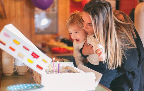 Kinderverjaardag stress: de locatie