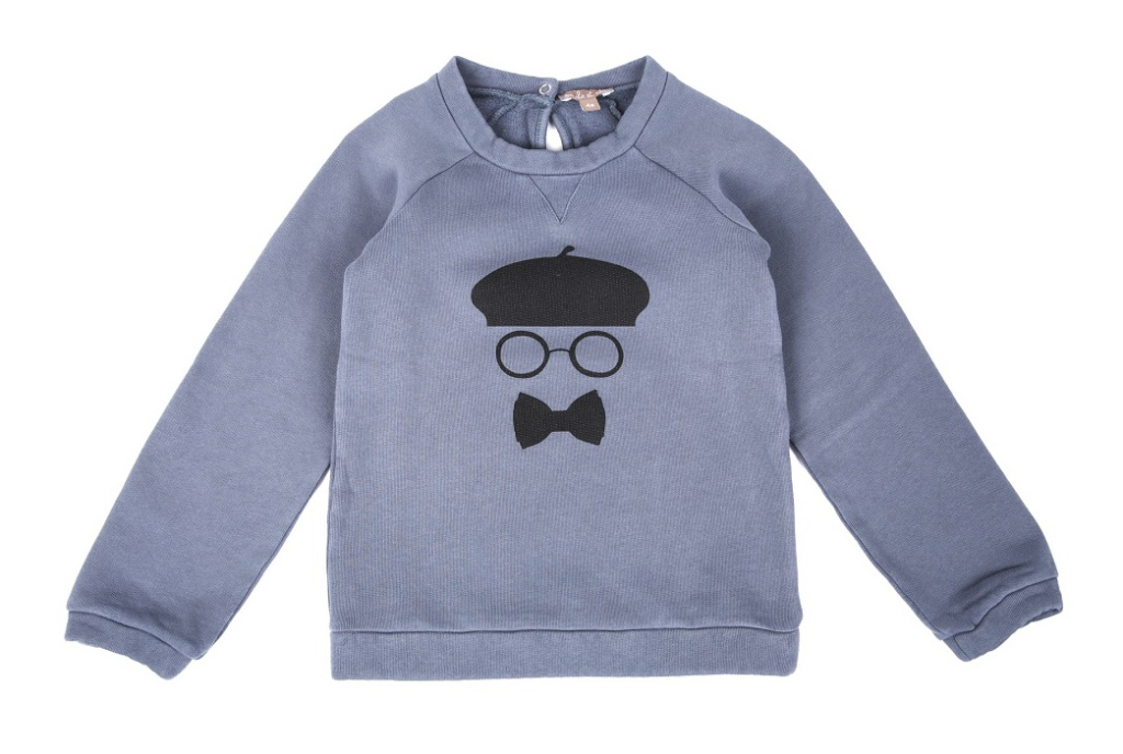 Baret-sweatshirt-blue