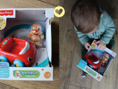 Oh yeah winnen! Fisher Price Puppy's Car