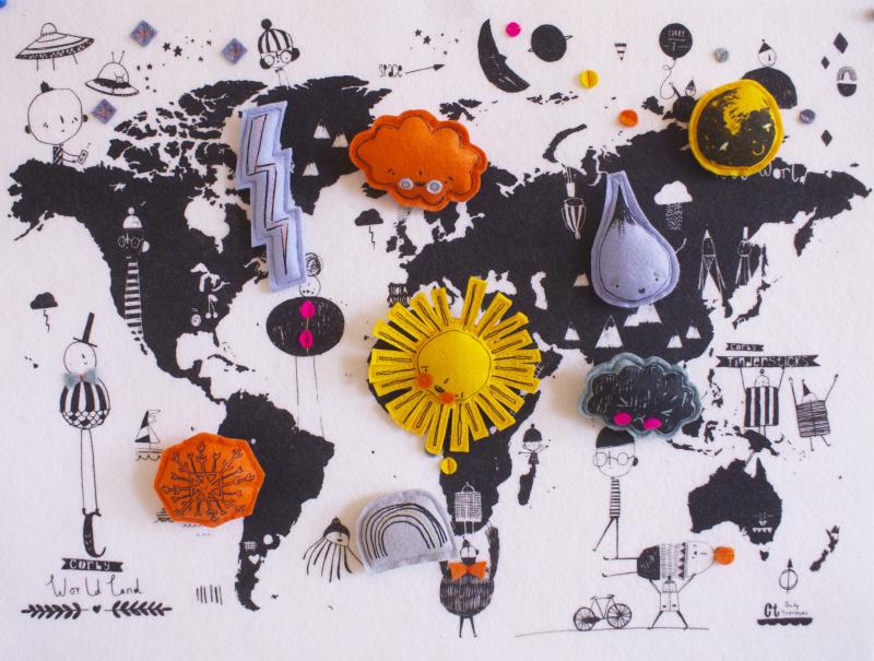 wereldkaart-symbolen