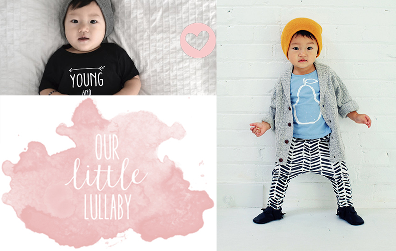 Our little lullaby rockt stoere prints!