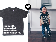 Stoere t-shirts van T's and Tots