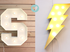 Lightsymbols van Lovestruck homewares!