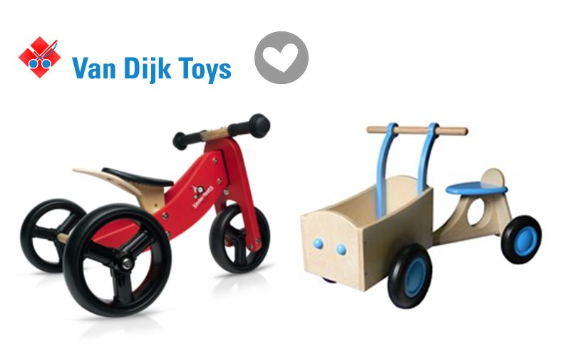 Van Dijk Toys is specialist in houten speelgoed