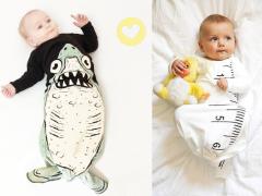 Slaapzak met een haai of zeemeermin?