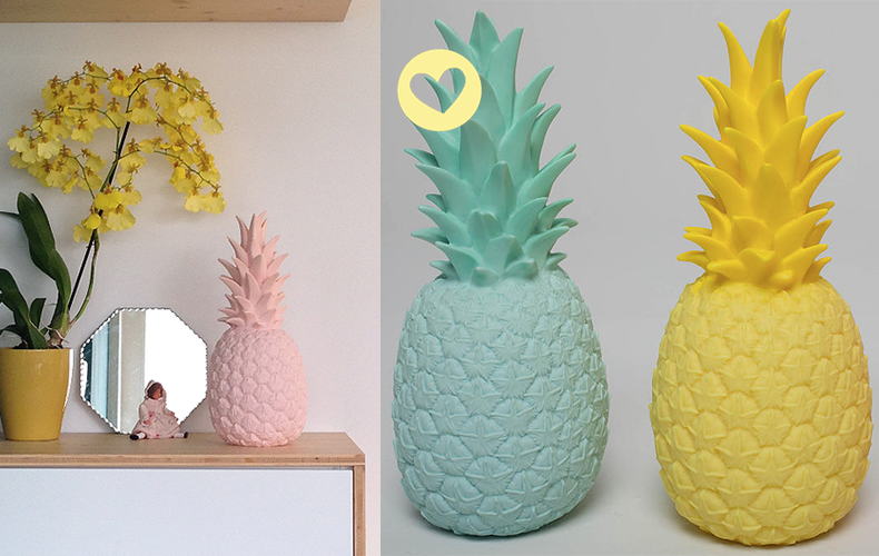 Oh yeah winnen: Pineapple lamp!!