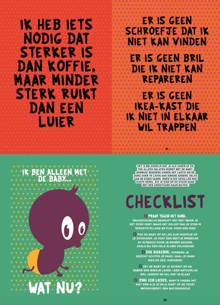 Vadersboek-collage