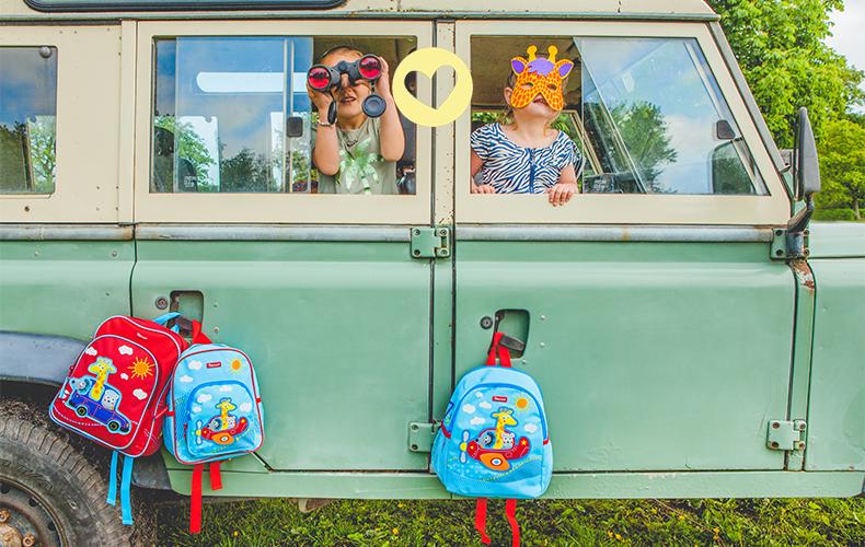Back to school met een Kidzroom rugtas!
