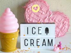 Ice cream lights!