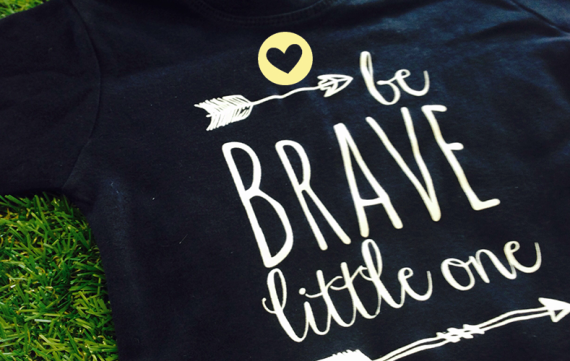 Oh yeah winnen: Be Brave tee!