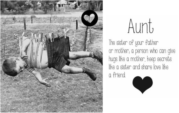 Opeens word je het: Tante