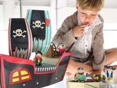 Krooom: bouwen en spelen met karton!