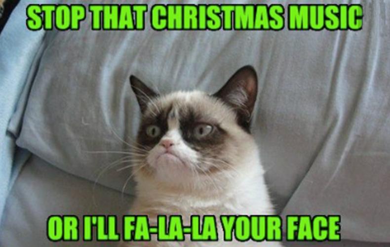 Grumpy cats kerst humor :-)