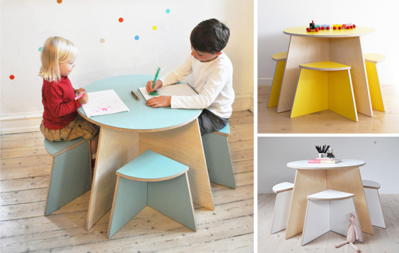 Kindermeubel van Small Design: circle crush!