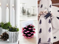 Tafeldecoratie voor kerst: snel en simpel!