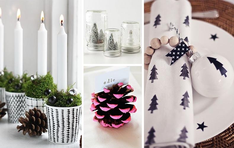 Kerst Tafel Decoratie : Tafeldecoratie voor kerst: snel en simpel! oh yeah baby!