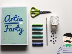 Artie Farty: tips voor kleine kunstenaars!