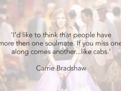 Mijn 15 favoriete Carrie Bradshaw quotes