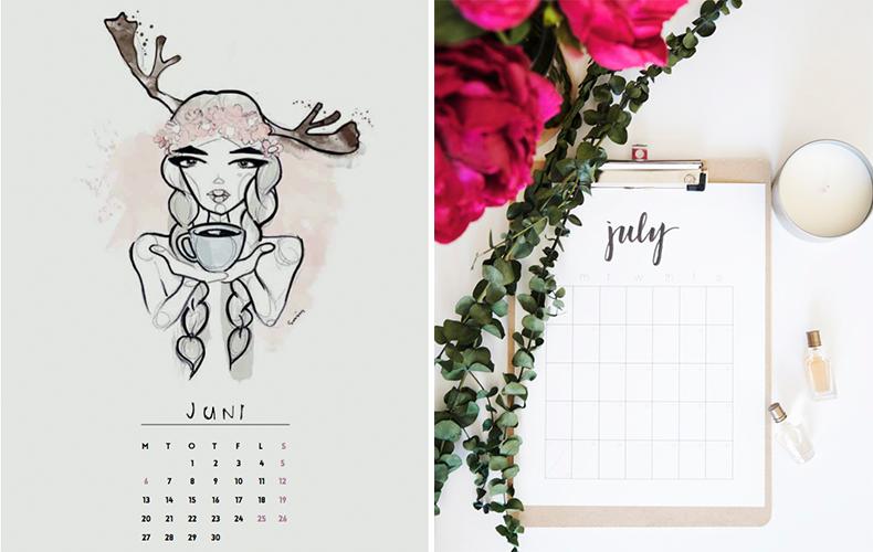 De leukste gratis kalenders downloaden!