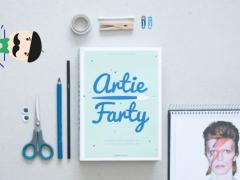 Winnen: Artie Farty, hét must-have crea boek!