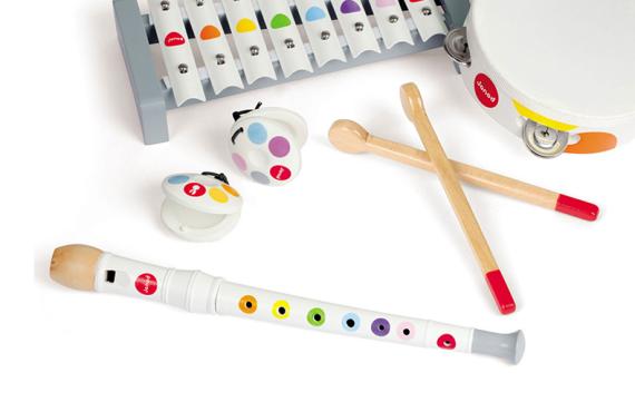 Muziekinstrumenten en de ontwikkeling van kinderen