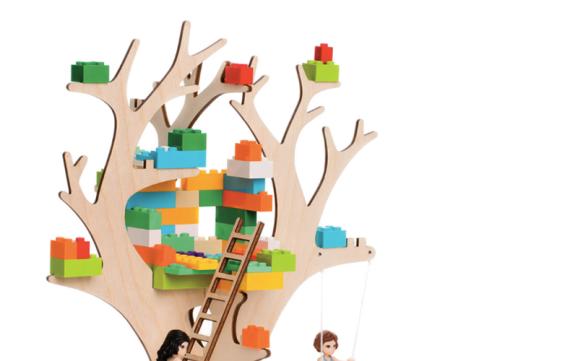 Brikkon: bouwplaten combineren met Lego