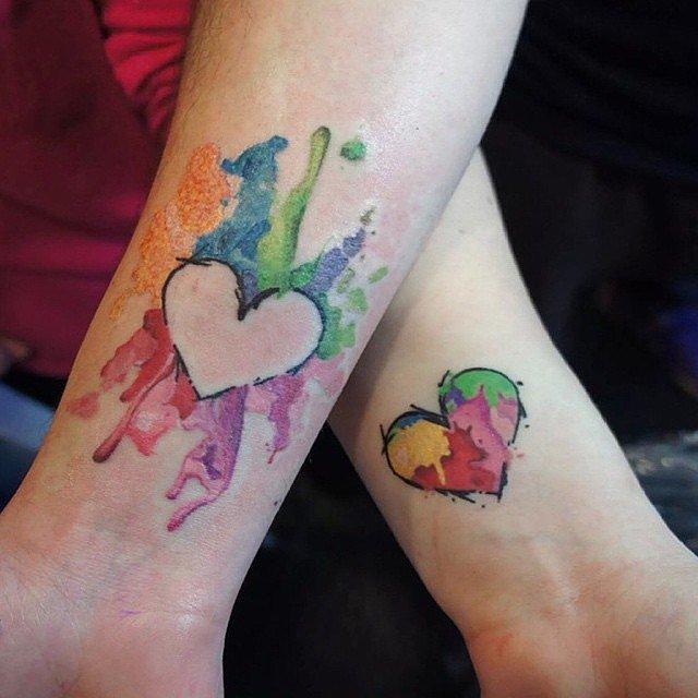 Watercolor-Heart-Puzzle-Pieces
