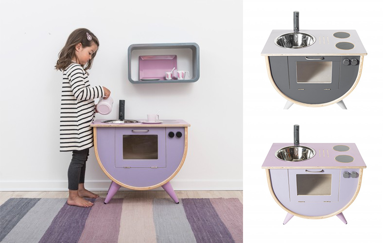 Kinderkeuken met een verrassend ontwerp!