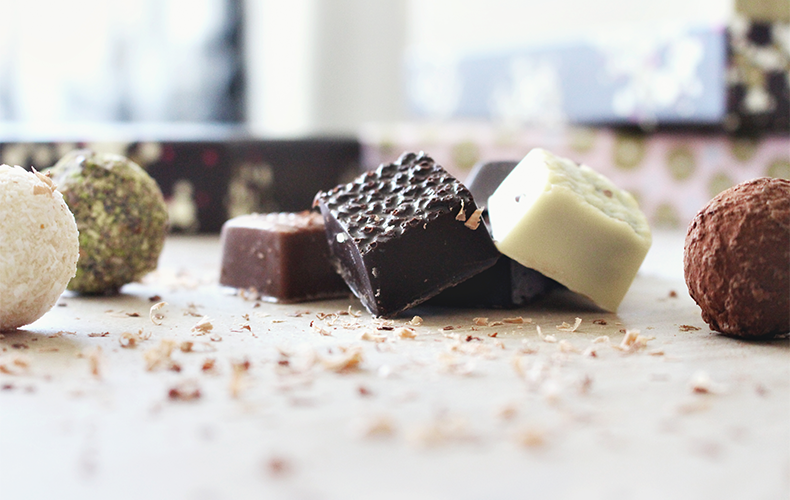 Verslaafd aan chocola