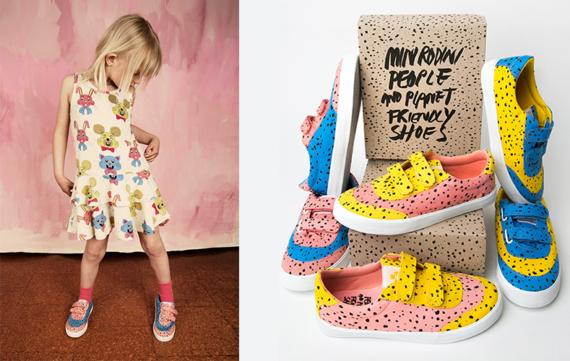 Kleurexplosie bij Mini Rodini schoenen