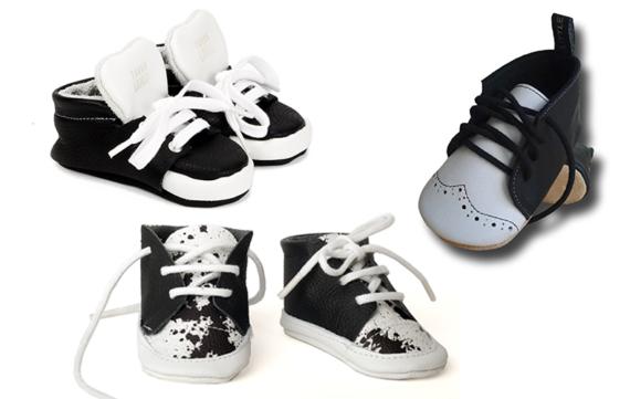 De 12 mooiste monochrome babyschoentjes van Nederlandse bodem!
