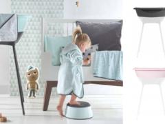 Design babybad voor een strakke look