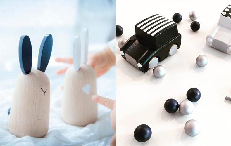 Minimalistisch houten speelgoed van Kiko +