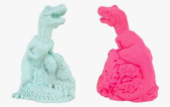 Dinosaurus lamp voor de dino fase