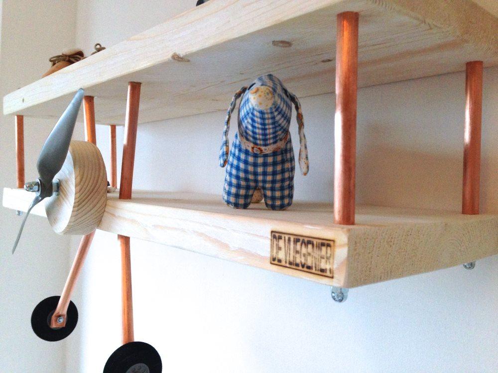 Behang Kinderkamer Vliegtuigen : Stoer behang babykamer best met retro vliegtuig of jungle behang