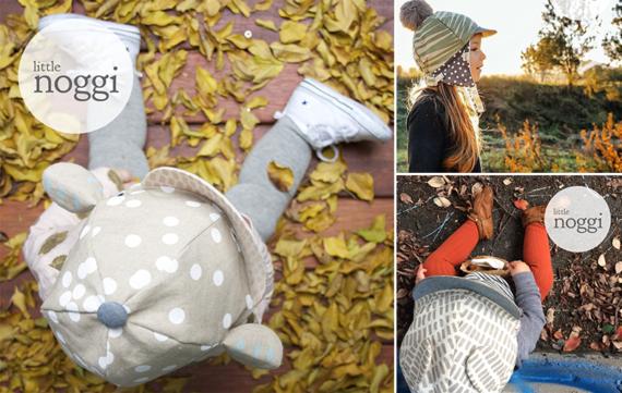 Handgemaakte petten voor baby en kind