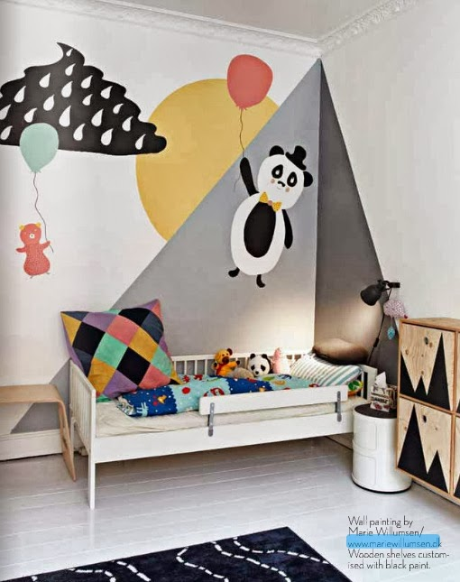 muur inspiratie boo and the boy