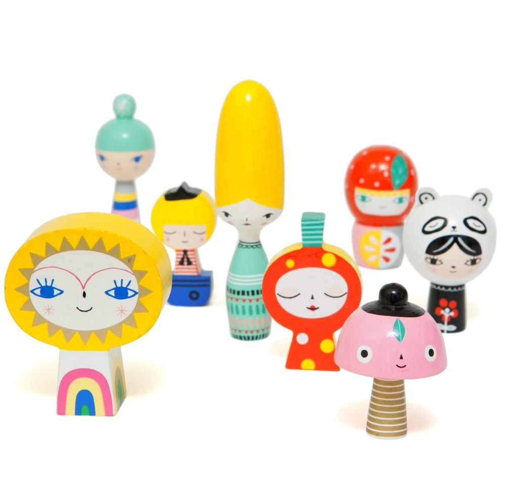 houten speelgoed petit monkey