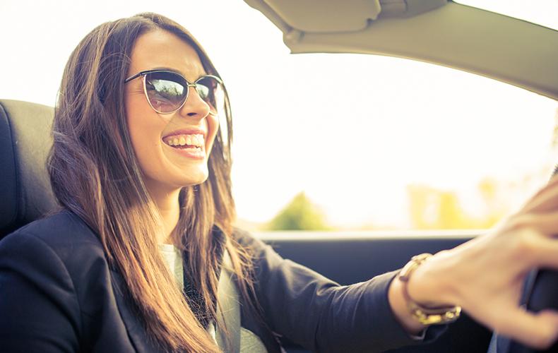 Vrouwen achter het stuur…