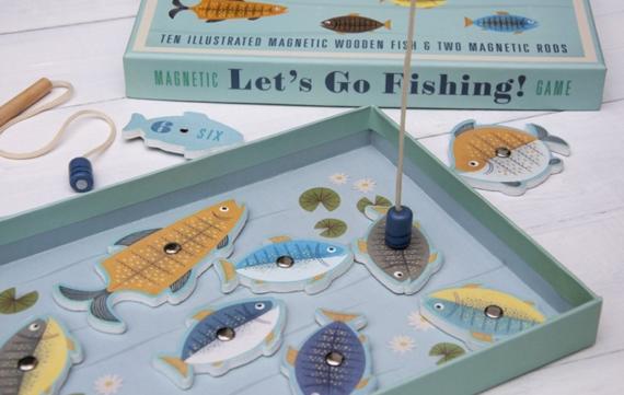 Gooi je hengel uit met dit mooie vissenspel!