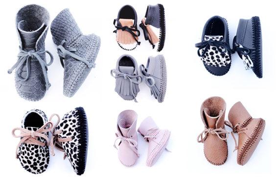 Handgemaakte babyschoentjes waar je hebberig van wordt