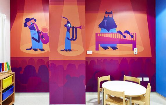 Kinderziekenhuis door de wasstraat