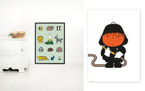 Nijntje crush compleet met deze Nijntje posters van Kek Amsterdam