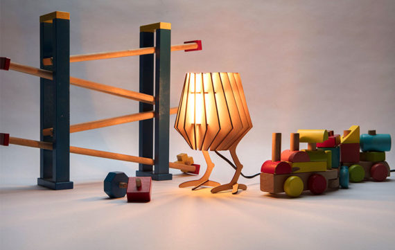 Dutch design lamp ombouwen tot kinderlamp!