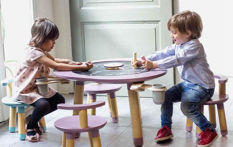 Spelen en kindermeubel in één van MUtable