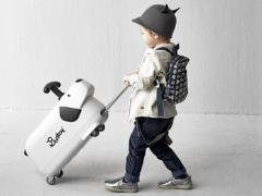 Een reisvriend en kindertrolley in één!