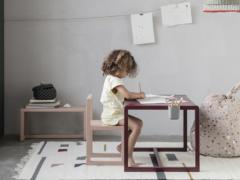 Strakke kindermeubels voor kleine architecten