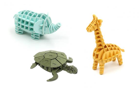 3D puzzels voor het ruimtelijk inzicht