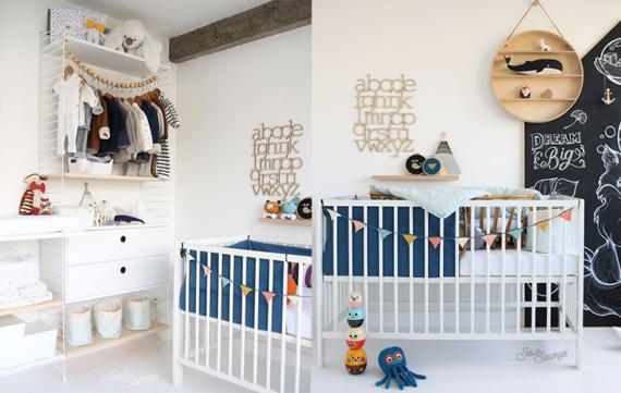 5 x leuke wandopbergers ter decoratie op de kinderkamer